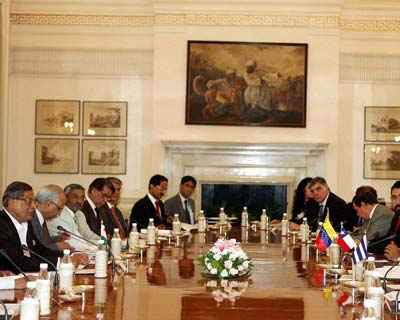 India hosts first India-CELAC Troika Foreign Ministerial meeting