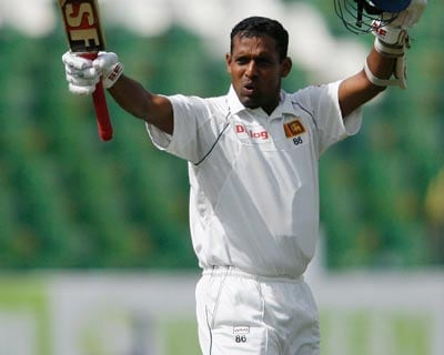 Sri Lanka's Thilan Samaraweera seemed to be the worst hit, suffering a thigh injury, a player on the team bus, who did not wish to be identified, told Reuters on phone. (Reuters)