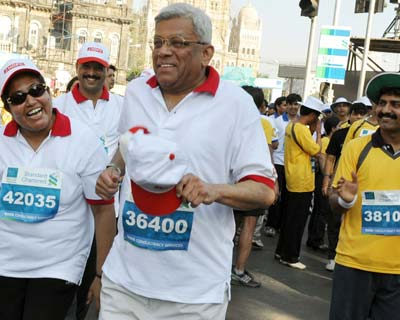 HDFC Chairman Deepak Parekh during the event