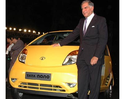 Nano - the new people`s car