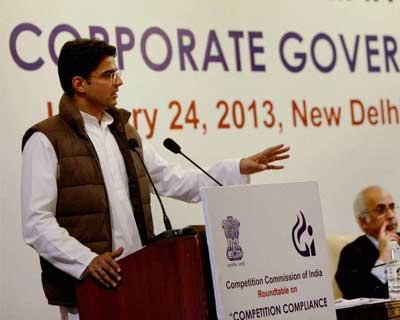 Sachin Pilot attends CCI conference