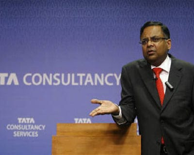 <p><b>Tata Consultancy Services (TCS) chief executive and managing director N. Chandrasekaran.</b>