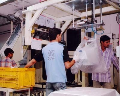 <b>Industrial output falls again</b> <P> The index of industrial production (IIP) declined for the second month in a row, the fall being 0.5 per cent in January. This is the first time in 16 years that industry shrank for two consecutive months