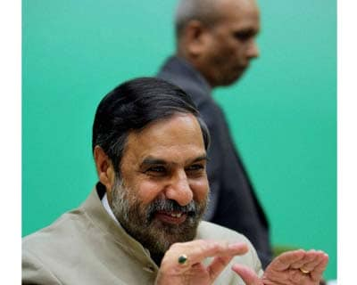 <p>Union Minister of Commerce and Industry Anand Sharma during the release of the Annual Supplement 2012-13 to the Foreign Trade Policy 2009-14 in New Delhi on Tuesday.</p>