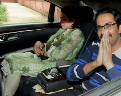 Uddhav Thackeray leaves hospital after being discharged