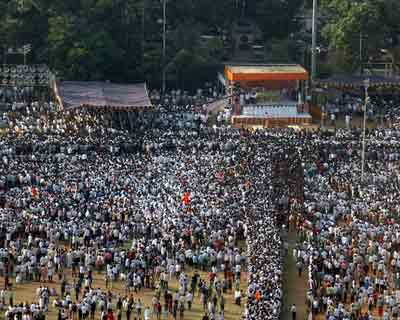 Bal Thackeray`s last journey