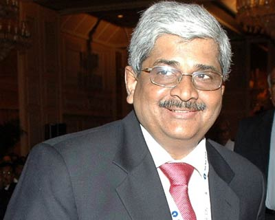 Financial Services Secretary R Gopalan at the Bancon 2009-10