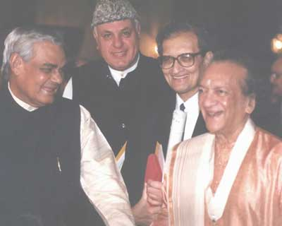 Honoured with Bharat Ratna in 1999