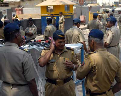 As many as 500 police personnel were deployed on the road leading to the special court set up inside Arthur Road Jail in central Mumbai. One side of the road was closed to traffic. Security personnel in plainclothes were seen moving around the court.