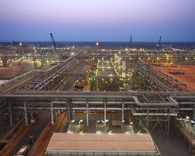 <p><b>Reliance Industries KG-D6's facility located in Andhra Pradesh is pictured in this undated handout photo</b></p><p>Reliance Industries <RELI.NS> has asked the Supreme Court to appoint an arbitrator in its ongoing dispute with the government
