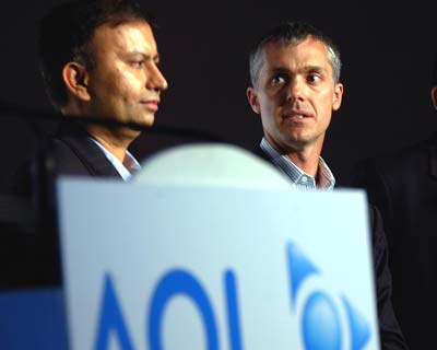 AOL launches internet portal in India
