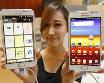 Samsung eyes high profits