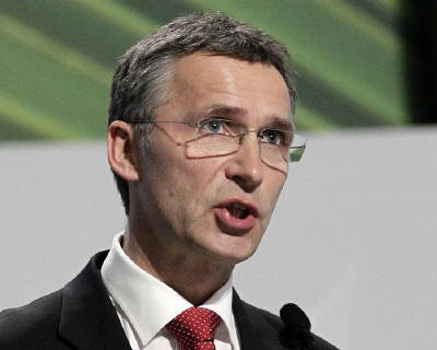 <p><b>Norway&#39;s PM Jens Stoltenberg gives a speech during a plenary session at the Moon Palace, where climate talks are taking place, in Cancun</b></p><p>Norway&#39;s Prime Minister Jens Stoltenberg is worried that Norwegian mobile operator Teleno