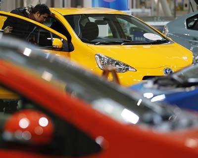 Toyota quarterly operating profit jumps five-fold