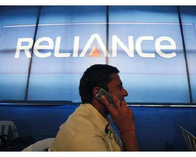 <p>A shareholder speaks on a mobile phone while attending the annual general meeting of RCap in Mumbai</p><p></b>India&#39;s telecom stocks rose on Tuesday after a new draft policy unveiled by the government was seen broadly positive for the once-boo