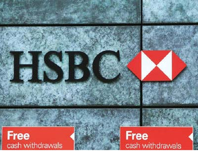 <p><b>Free cash withdrawals are advertised outside a HSBC bank in the city of London</b></p>HSBC Holdings will run down its $33 billion US credit card business if it cannot find a buyer, the bank&#39;s chief executive said on Monday, part of efforts