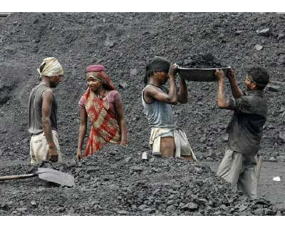 <p><b>Laborers work in a railway coal yard on the outskirts of Ahmedabad. GVK Power and Infrastructure will buy two of Hancock Prospecting&#39;s thermal coal mines in Australia for around $2.4 billion</b></p><p>GVK Power and Infrastructure will buy t