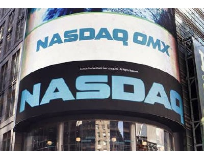 <p><b>The NASDAQ market site is seen in New York&#39;s Times Square </b>