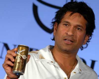 Sachin celebrates 100 tons