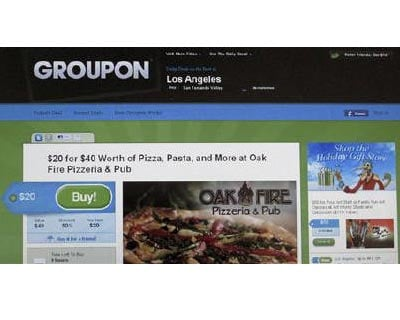 <p><b>An online coupon sent via email from Groupon is pictured on a laptop screen</b></p><p>Groupon Inc's Indian subsidiary SoSasta inadvertently published its users' passwords on the Internet, but the sensitive information was quickly remove
