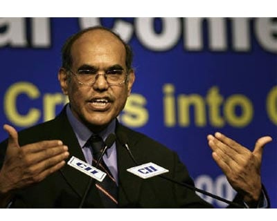 <p><b>Reserve Bank of India (RBI) Governor Duvvuri Subbarao speaks during a business conference organised by the Confederation of Indian Industry (CII) in New Delhi</b></p><p>With Reserve Bank of India Governor Duvvuri Subbarao&#39;s 3-yr term due to
