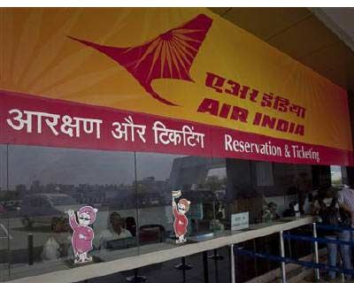 <p>Passengers speak to ticketing staff through the only open counter at the Air India ticket office at the domestic airport in Mumbai</p><p><b>The CAG report on Thursday said state-run firm Air India&#39;s decision to buy 68 Boeing planes in 2004-05,