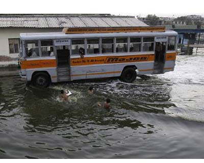 <p>Children play in a flooded bus terminal as a passenger bus moves past in New Delhi</p><p><b>India&#39;s monsoon rains were 12% above normal in the week to June 1, the weather office said on Thursday.</b></p><p>The monsoon, vital for farm output in