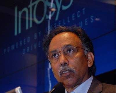Infosys Q2 net up 3.5%