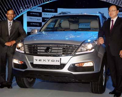 Mahindra launches Rexton SUV