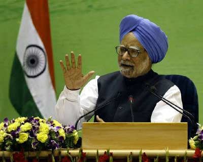 <p> <b>Prime Minister Manmohan Singh speaks during a news conference in New Delhi.</b> </p><p> Singh has turned to India's top legal official to represent him at the Supreme Court over why he failed to probe what is emerging as one of the coun