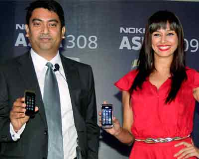 Nokia launches new Asha 308, 309 handsets