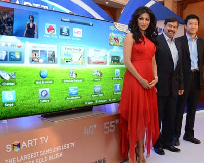 Samsung launches new Smart TV