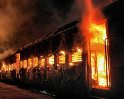 Ernakulam Express catches fire