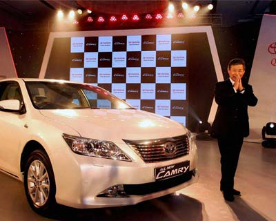 Toyota launches new Camry