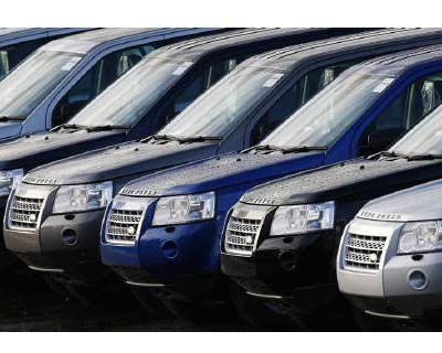<p>Land Rover Freelanders are seen outside the Halewood Jaguar and Land Rover factory in Liverpool, northern England</p><p><b>Jaguar Land Rover, a unit of Tata Motors, will source components from India, its Chief Executive Ralph Speth said on Friday.