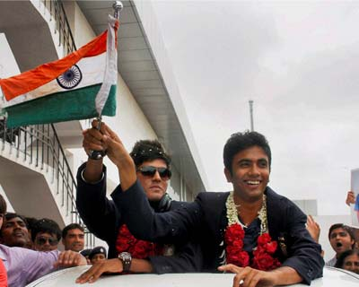 India U-19 cricketers return home after World Cup win
