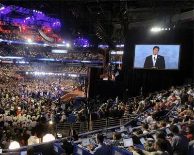 Paul Ryan criticises Obama for failed policies