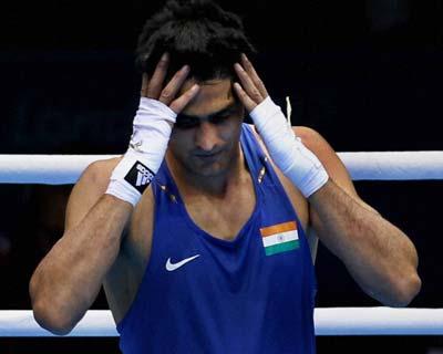 Vijender Singh loses quarterfinal match