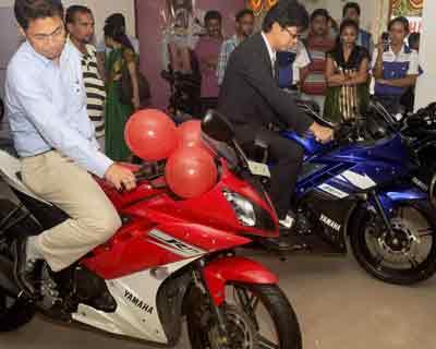 Yamaha opens showroom in Madhyamgram