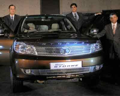 Tata Safari Storme launched in Jaipur