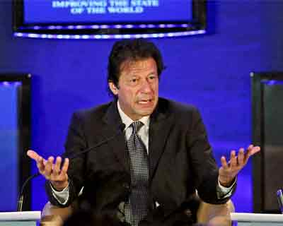 Imran Khan speaks at World Economic Forum
