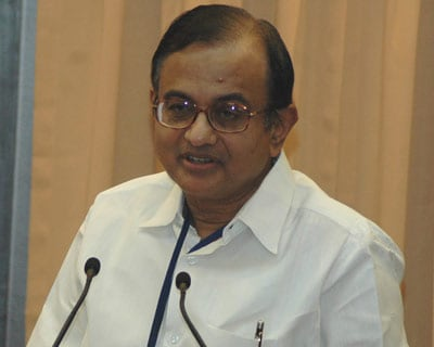 File photo of Home Minister P Chidambaram, who wasn't too happy that the IPL schedule was clashing with the dates set for the forthcoming general elections, and asked the organisers for a fresh set of dates.