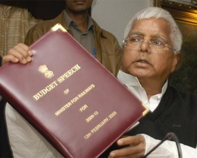 Railway Minister Lalu Prasad today announced an across-the-board two per cent cut in fares of ordinary and AC class in the Interim Railway Budget