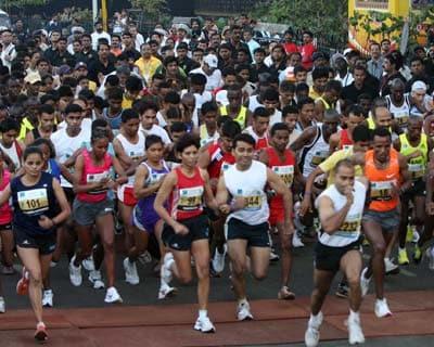 Mumbai Marathon 2010