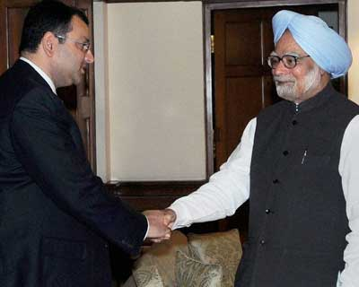 Cyrus Mistry meets PM