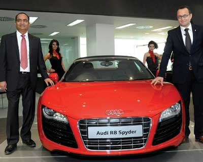 Audi R8 Spyder launched