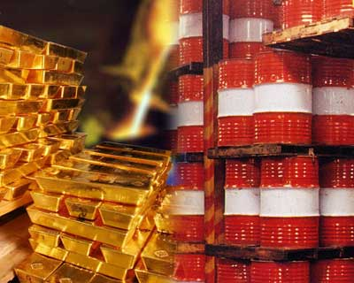 Gold and crude oil prices, too, rocketed to record highs during 2008. While crude retraced sharply lower from its peak of $147 per barrel, gold continued to remain firm and trade near $900 levels against its summit of $1011.25