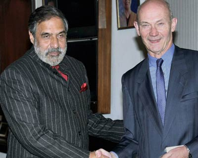 Pascal Lamy meets Sharma
