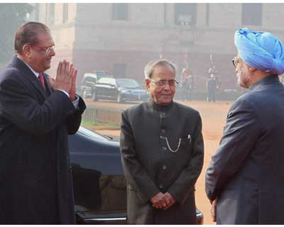 Mauritian President visits India