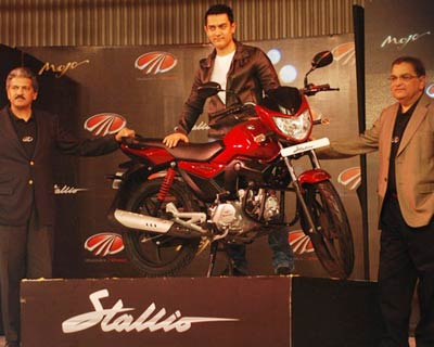 </p><b>M&M enetred the two-wheeler market with the launch of Stallio</b>